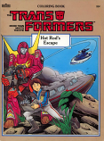 Transformers: Hot Rod's Escape (1986) Marvel