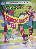 Alvin and the Chipmunks (Block Party; 1990) Golden